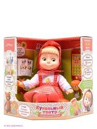 Интерактивные игрушки Маша и медведь