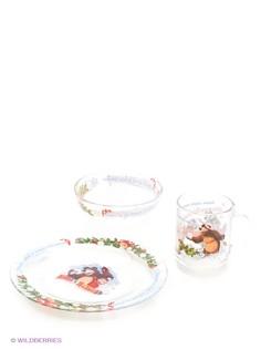 Наборы посуды Маша и медведь