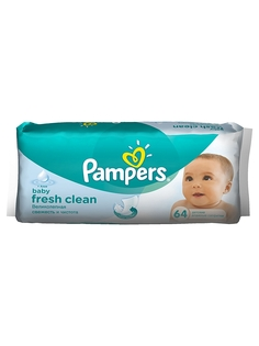 Влажные салфетки Pampers