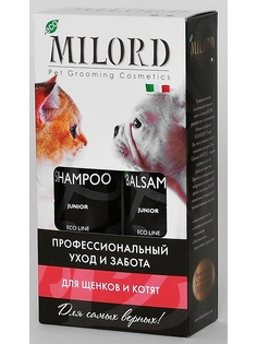 Шампуни для животных MILORD