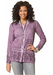 Удлиненная блузка BOYSEN'S