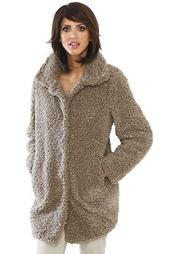 Плюшевое пальто Linea Tesini