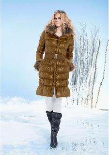 Пуховое пальто ISABELLA FELLINI