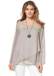 Комплект: блузка + топ Aniston