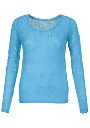 Ажурный пуловер MY STYLE