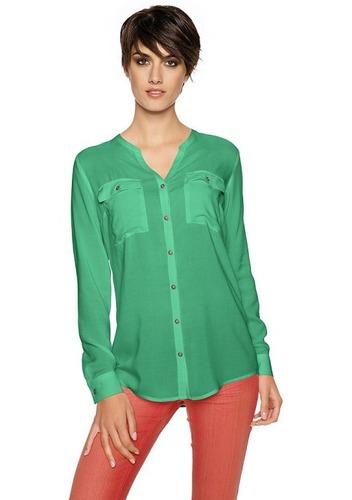 Рубашки со стойкой женские