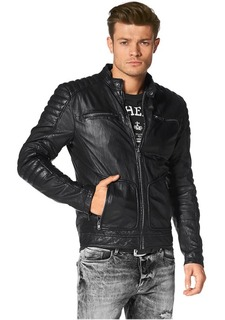 Кожаная куртка BRUNO BANANI