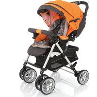 Прогулочная коляска Cozy, Jetem, оранжевый
