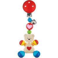 """Клипса с игрушкой """"Медвежонок с сердцем"""", HEIMESS"""