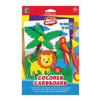 Цветной картон В5 (10 листов), Artberry Erich Krause