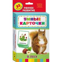 """Развивающие карточки """"В лесу"""" (0+) Росмэн"""