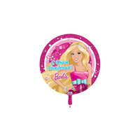 """Шар надувной 18' """"С Днём рождения!"""" Barbie Росмэн"""