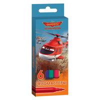 Фломастеры 6 цветов, Disney Самолеты Limpopo