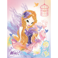 "Плед ""Fashion Stella"" 150*200, Winx Club Мона Лиза"