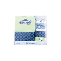 Подарочный набор, 5 пр. (боди к/р, штанишки, шапочка, 2 пары носков) для мальчика Luvable Friends