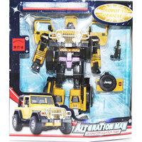 Робот-трансформер: Собирается в Джип XXL, Play Line