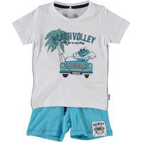 Комплект для мальчика: футболка и шорты name it