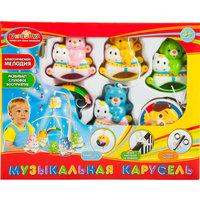 """Играем вместе Погремушка """"Капитошка"""", музыкальная на подвеске, цвет в ассортименте"""