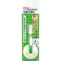 Зубная щетка с фиксатором с 6 мес., Pigeon, зеленая