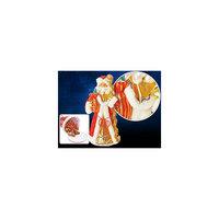 """Декоративная кукла """"Дед Мороз"""", 25х70 см красный, TUKZAR"""