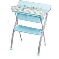 Стол для пеленания Lindo, Brevi, голубой