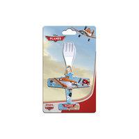 Набор ложка + вилка, в форме самолета, Самолеты Новый Диск
