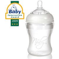 Бутылочка с широким горлышком Natural Touch, 210 мл, силикон, Nuby