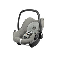 Автокресло Pebble Grey Gravel 0-13 кг., Maxi-Cosi, серый