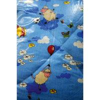 Одеяло холлофайбер 110*140, Letto, голубой