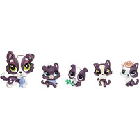 """Игровой набор """"Большая семейка"""", Littlest Pet Shop, в ассортименте Hasbro"""