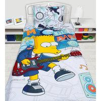 """Комплект """"Симпсоны"""" 1,5-спальный (наволочка 50*70 см) Мона Лиза"""