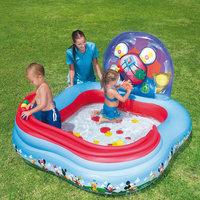 Детский игровой бассейн с кольцами и шариками для игры, Микки Маус Bestway