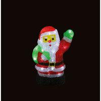 """Новогодний светильник """"Дед Мороз"""", 40 ламп, 30см Волшебная Страна"""