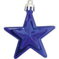 Набор синий, 6 см, 10 шт., звезды Волшебная Страна