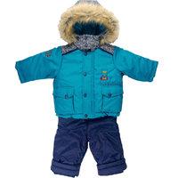 Комплект для мальчика: куртка полукомбинезон Бимоша