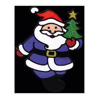 "Наклейка на окно ""Весёлый Дед Мороз"" 13*16 см Erich Krause"