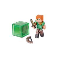 Фигурка Алекс с аксессуарами 8см, Minecraft Jazwares