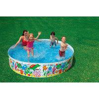 "Детский каркасный бассейн ""Аквариум"", Intex"