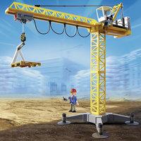 PLAYMOBIL 5466 Стройка : Большой строительный кран на инфракрасном управлении Playmobil®