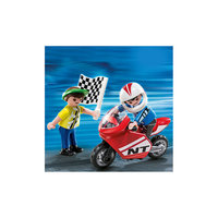 PLAYMOBIL 4780 Дополнение: Мальчики с гоночным мотоциклом Playmobil®