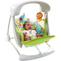 """Переносное кресло-качели """"Друзья из тропического леса"""", Fisher-price Mattel"""