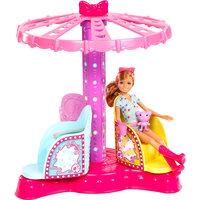 Аттракцион для сестер Барби и кукла Челси, Barbie Mattel