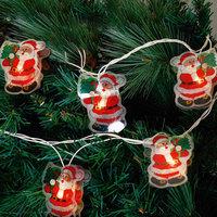 "Электрогирлянда ""Дед Мороз"" 250 см, 16 ламп Феникс Презент"