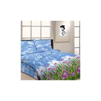 """Комплект """"Цветочная поляна"""" 1,5-спальный (2 наволочки 70х70), Letto"""