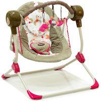 Кресло-качели Balancelle, Baby Care, розовый