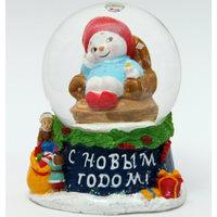 """Новогодняя фигурка """"Снеговик в кресле"""" Феникс Презент"""