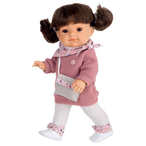 Кукла Кэти в коричневом, 38 см, Munecas Antonio Juan