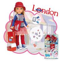 "Кукла Нэнси ""Путешественница"", шопинг в Лондоне, Famosa"