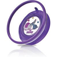 Тарелка на присоске, Nuby, фиолетовый