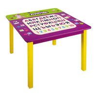 Квадратный стол с алфавитом 60*60*53,5 см, Лунтик и его друзья Gulliver